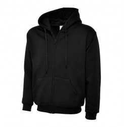 UC504 ADULTS CLASSIC FULL ZIP HOODED SWEATSHIRT